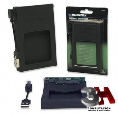 CARRY 2.5 USB 2.0 MANHATTAN DE GOMA