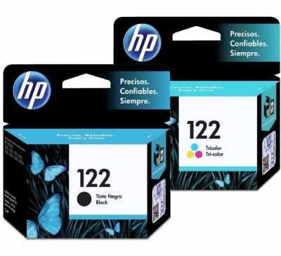 Cartucho Original de Tinta HP 122