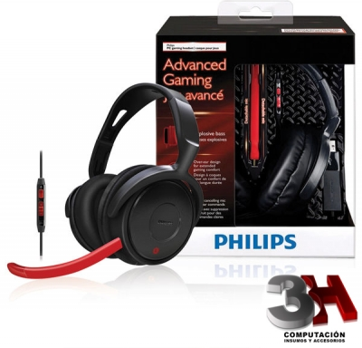 AURICULARES PHILIPS SHG7980 GAMING Headphones with