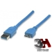 CABLE USB 3.0 PARA DISCO EXTERNO 1,50mts